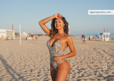 Influencer photosession in the Algarve